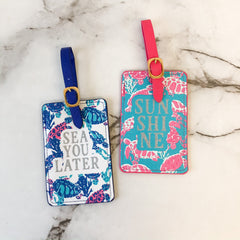 Turtle Luggage Tag Set by Simply Southern