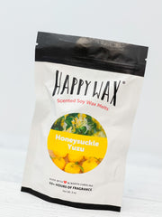 Happy Wax Soy Melts - Honeysucjkle Yuzu
