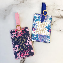 Reef Luggage Tag Set by Simply Southern