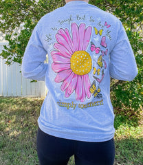 'Life Is Tough But So Are You' Long Sleeve Tee by Simply Southern