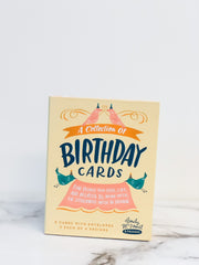 Birthday Cards - Set of 8
