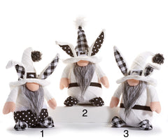 Sitting Bunny Gnomes - Choice of Style