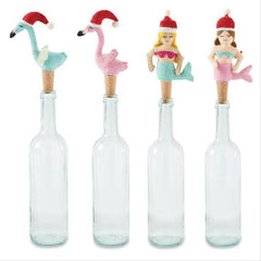 Sea Christmas Bottle Toppers by Mud Pie - Choice of Style
