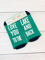 'Love You To The Lake and Back' Non-Slip Socks by Simply Southern