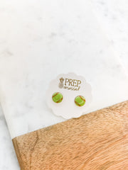 Softball Signature Enamel Studs by Prep Obsessed