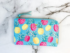 Printed Clutch by Simply Southern - Pineapple