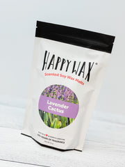 Happy Wax Soy Melts Half Pounder - Lavender Cactus
