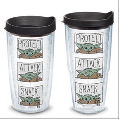 'The Child Protect Attack Snack' Star Wars The Mandalorian Double Wall Tumbler by Tervis (Ships in 2-3 Weeks)
