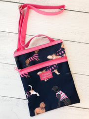 Dog Print Crossbody Bag by Simply Southern
