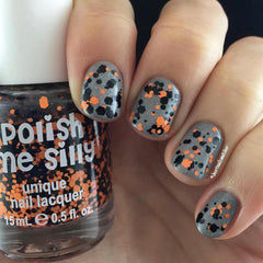 Polka Dot Nail Polish - Halloween Dots