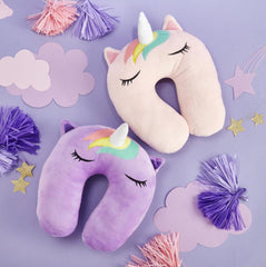 Magi-cool Unicorn Plush Travel Pillow - Choice of Color
