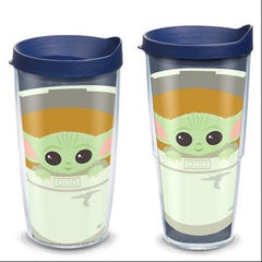 'The Child In Carrier' Star Wars The Mandalorian Double Wall Tumbler by Tervis (Ships in 2-3 Weeks)