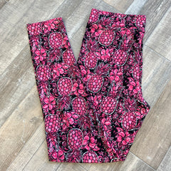 Printed Leggings by SS - Pineapple