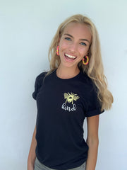 'Bee Kind' Short Sleeve Signature Graphic Tee by Prep Obsessed