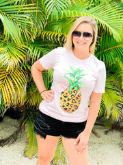 Wild Pineapple Short Sleeve Graphic Tee