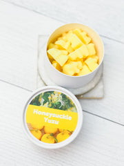 Happy Wax Soy Melts Tin - Honeysuckle Yuzu