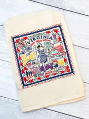 'Virginia' Kitchen Towel by PBK