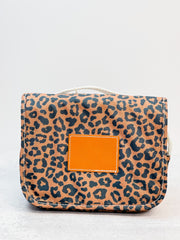 Felix Toiletry Bag - Leopard (1-2 Week Production Time)