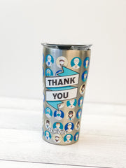 TERVIS SIMPLE SOUTHERN SEA STARS STAINLESS STEEL TUMBLER 20 OZ QQQ 164