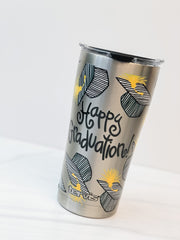 Coton Colors 'Happy Graduation' 20 oz Stainless Steel Tumbler by Tervis