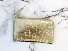 Solid Clutch by Simply Southern - Gold