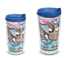 Disney 'Dumbo' Circus Double Wall Tumbler with Lid by Tervis