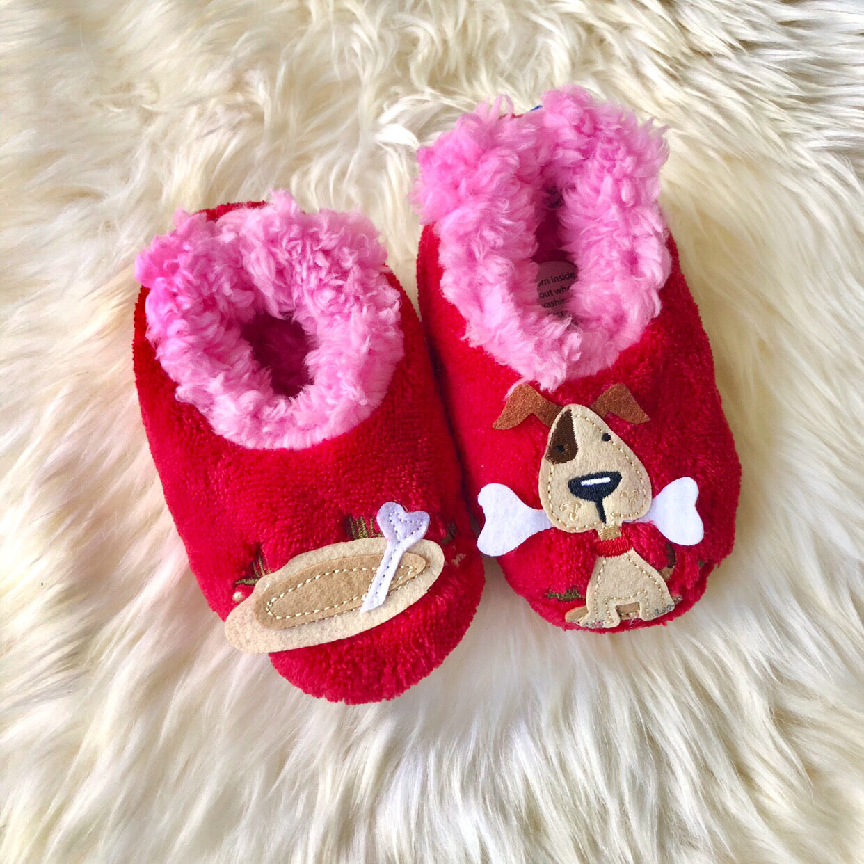 76e08422c81 Toddler Snoozies! Slippers - Dog House – Prep Obsessed
