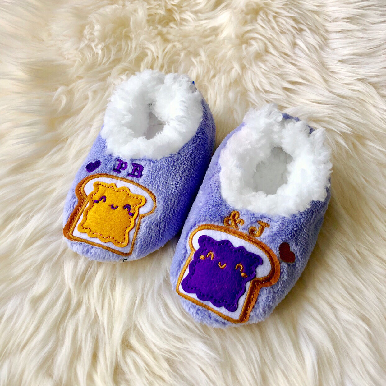 3d7d632aafe Toddler Snoozies! Slippers - PB J – Prep Obsessed