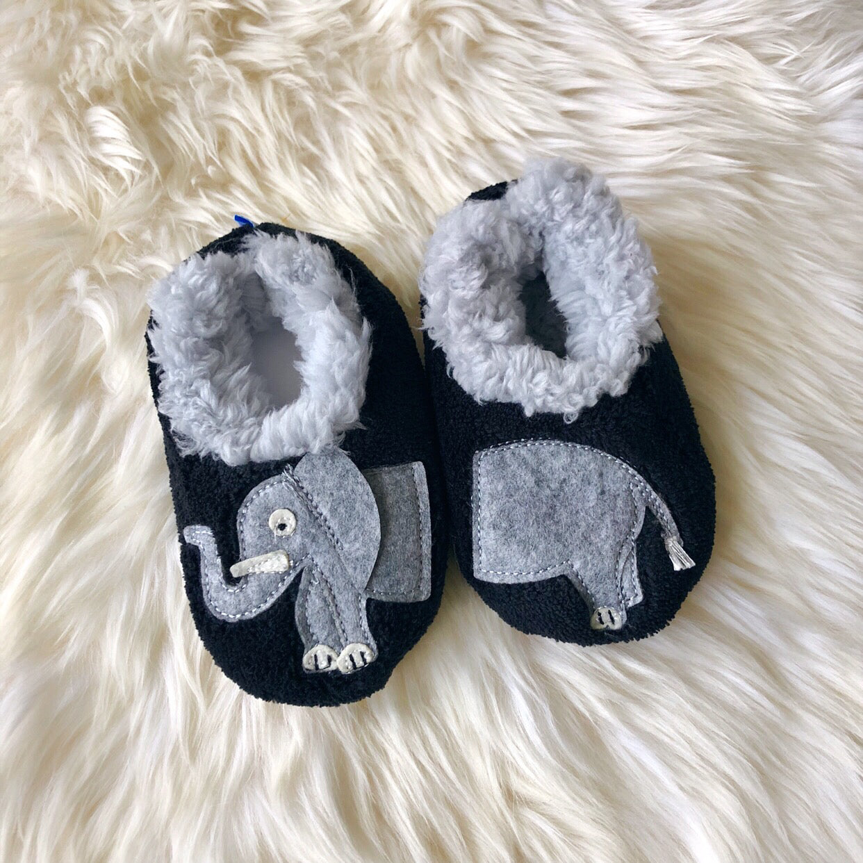 090ad64fdca Toddler Snoozies! Slippers - Elephant – Prep Obsessed