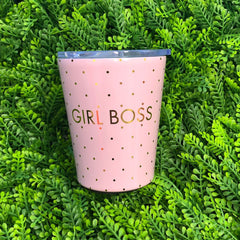 Girl Boss Stainless Coffee Tumbler