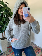 Gray Hooded Sherpa by SS