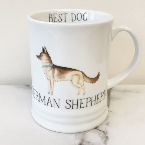 'Best Dog' German Shepherd Coffee Mug