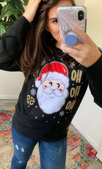'Ho Ho Ho' Santa Sweater by Simply Southern
