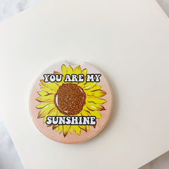 'You Are My Sunshine' Printed Car Coaster by Simply Southern