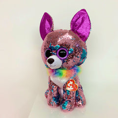 Flippables Yappy the Sequin Chihuahua by TY - Large