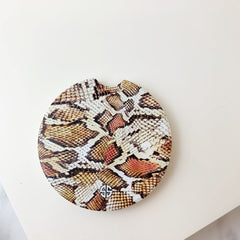'Snake Skin' Printed Car Coaster by Simply Southern