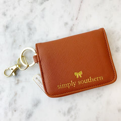 Tan Butterfly Wallet by Simply Southern