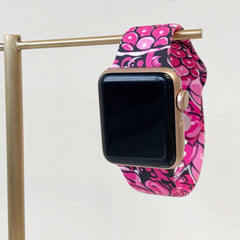 Floral Pineapple Watch Band