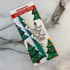 Christmas Tree Scented Holiday Pen - Single