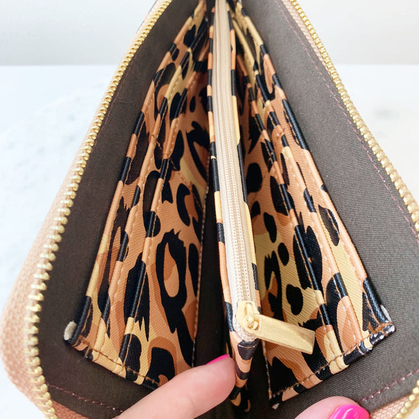 Leopard Wristlet Wallet By Simply Southern Prep Obsessed