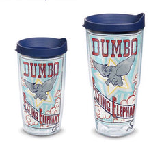 Disney 'Dumbo' Flying Elephant Double Wall Tumbler with Lid by Tervis (2-3 Weeks Production Time)