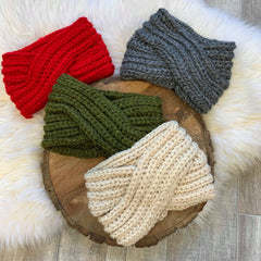 Chunky Twist Headband - Choice of Color