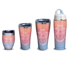 Salt Life 'Smile Sunshine' Flamingo Stainless Steel Tumbler By Tervis