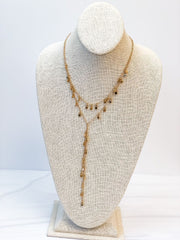 Cassandra Layered Necklace - Gold