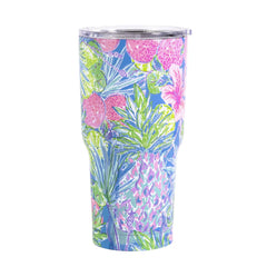 Insulated Acrylic Tumbler with Straw by Lilly Pulitzer - Swizzle In