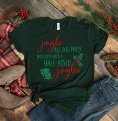'Jingle all the Way' Signature Graphic Tee by Prep Obsessed (Ships in 2-3 Weeks)