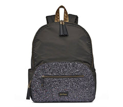 Brooklyn Backpack in Sparkle Charcoal by Jack Rogers