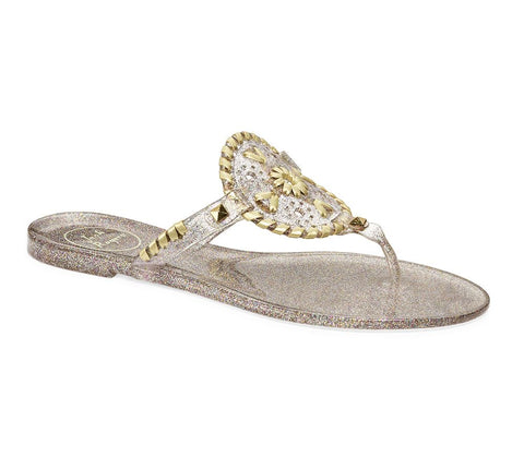 Jack Rogers Jelly Sandals Sparkle Georgica