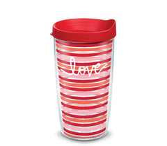 Coton Colors 'love' Double Wall Tumbler with Lid by Tervis (Ships in 2-3 Weeks)