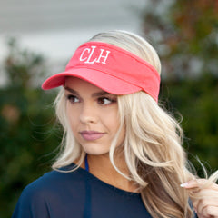 Monogrammed Visor (3 Week Production Time)